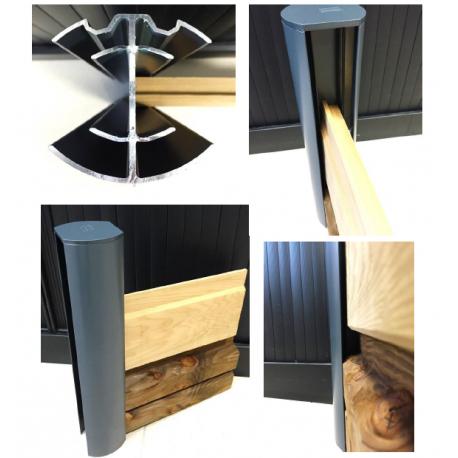 Poteaux Aluminium Pour Cloture